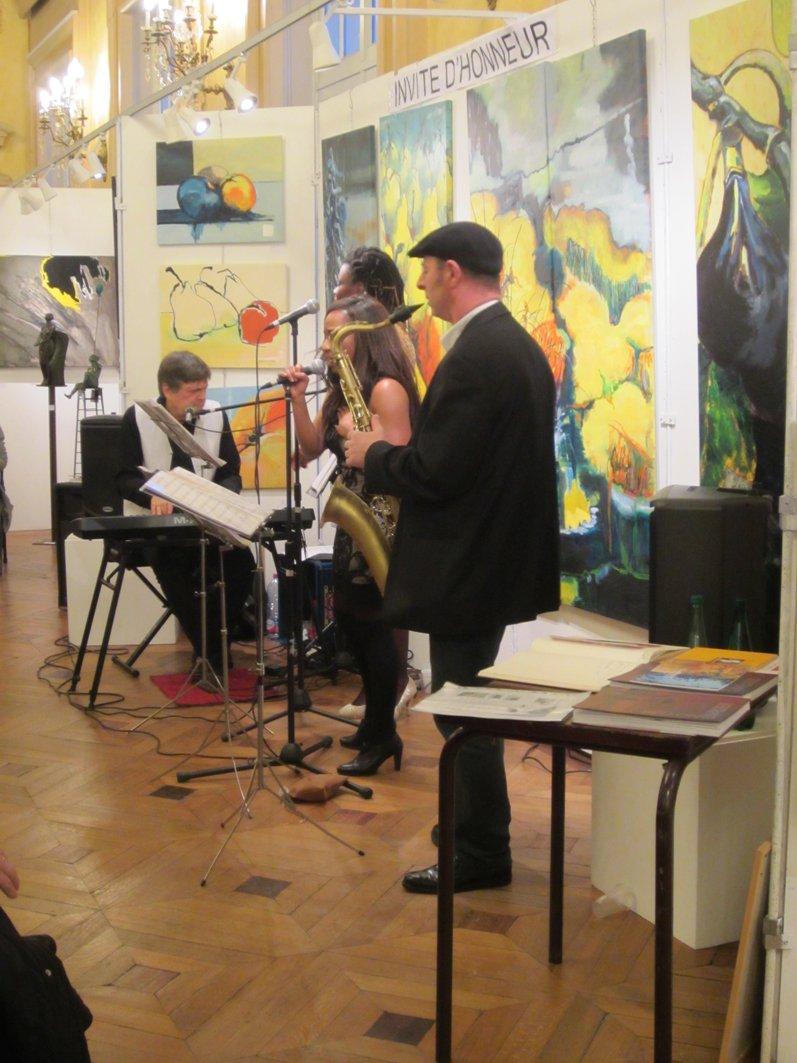 Liliane caumont news 45 me salon dans la mairie du 19 me for Salon musique paris